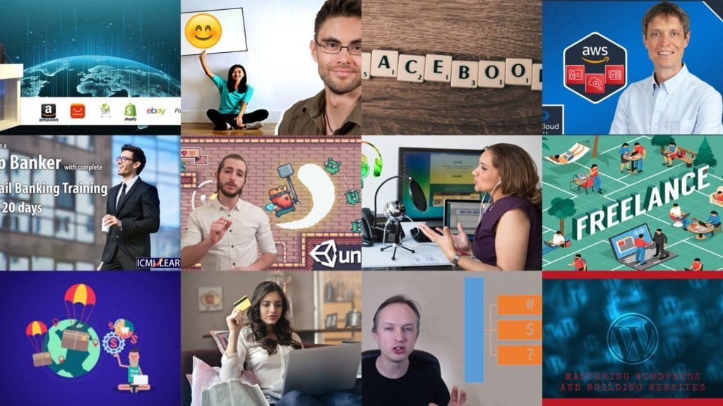 The screenshots of Udemy free coupon courses were captured on November 20, 2020